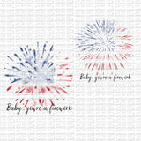 Baby, You're a Firework Digital Design
