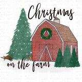 Christmas on the Farm Digital Design