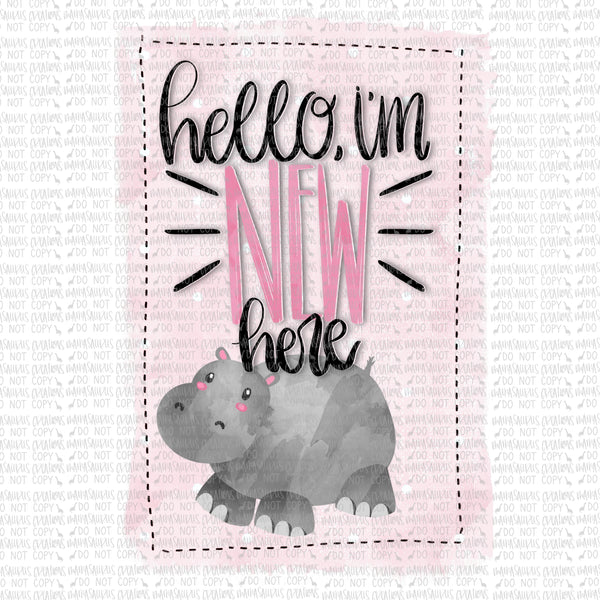 New Here Hippo Digital Design