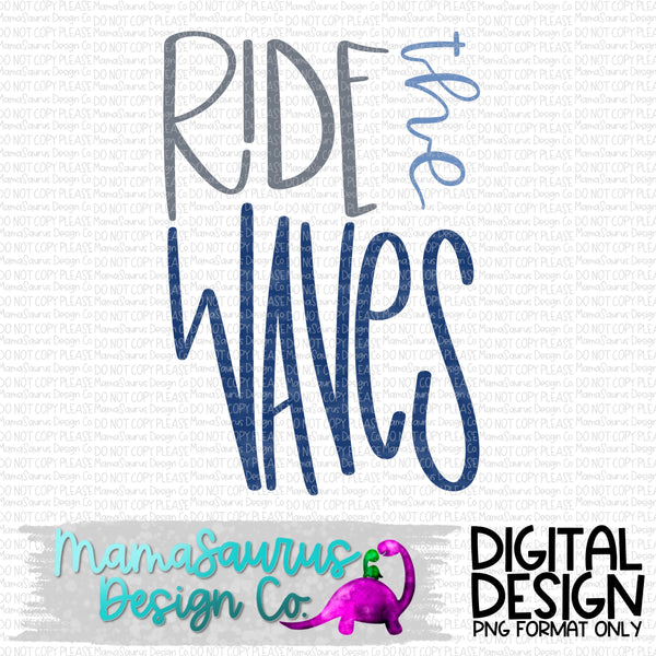 Ride The Waves Digital Design