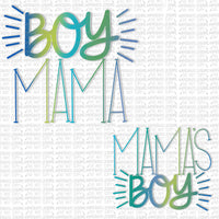 Mamas Boy Set Digital Design