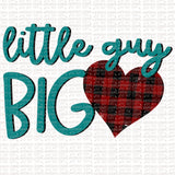 Little Guy Big Heart Digital Design