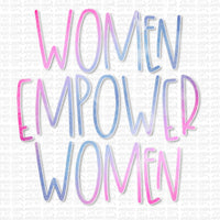 Women Empower Women Digital Design