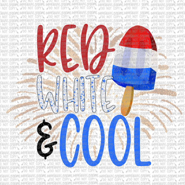 Red, White and Cool Digital Design