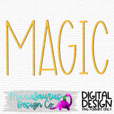Magic Simple Lettering Digital Design