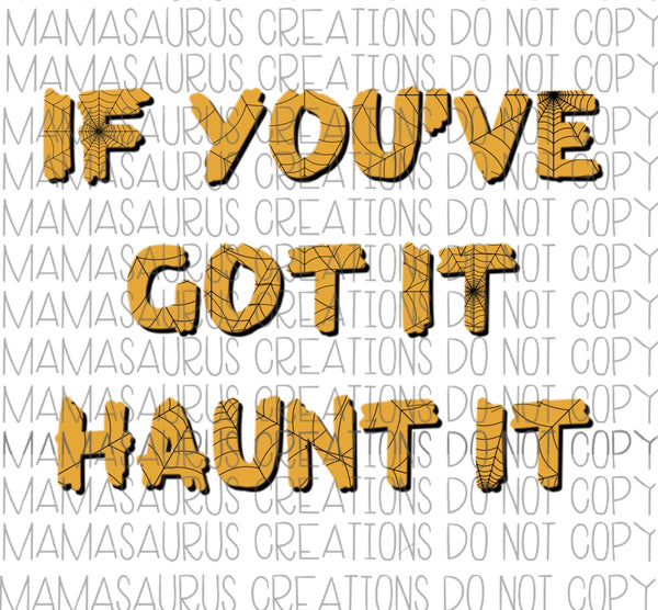 Haunt It Digital Design