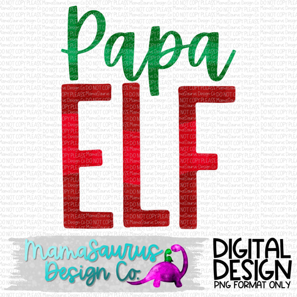 Papa Elf Digital Design