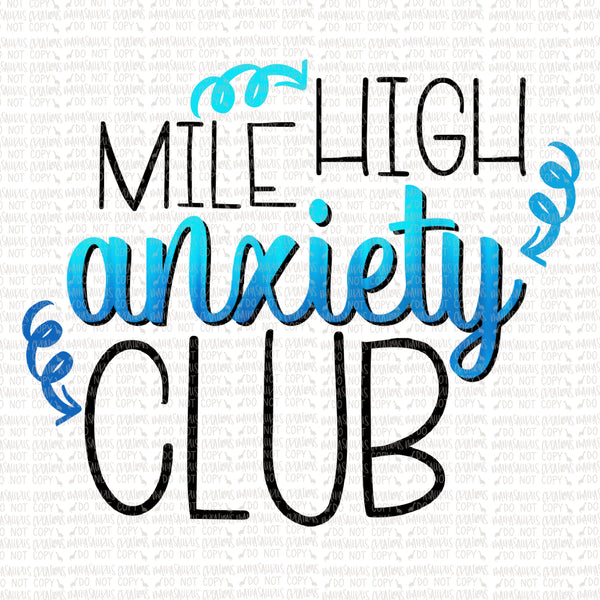 Mile High Anxiety Club Digital Design