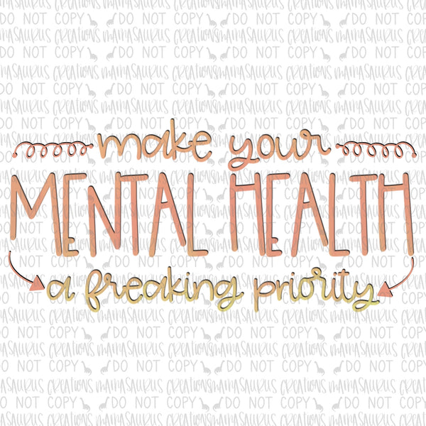Mental Health Priority Digital Design