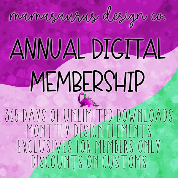 Annual Digital Membership