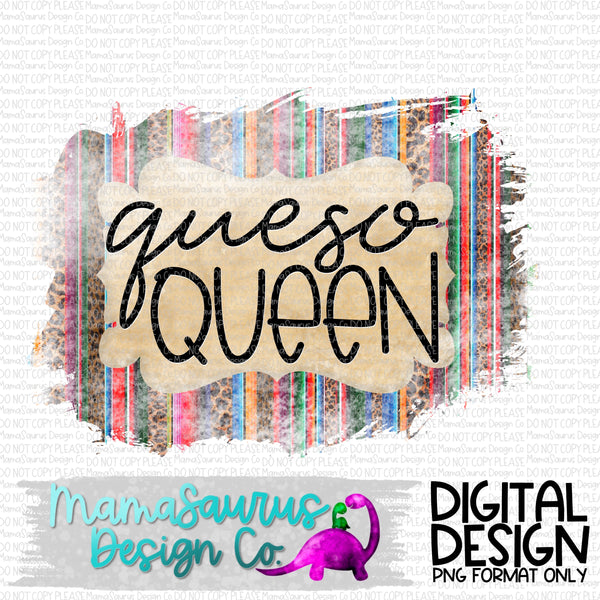 Queso Queen Digital Design