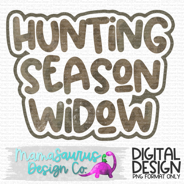 Hunting Season Widow Digital Design