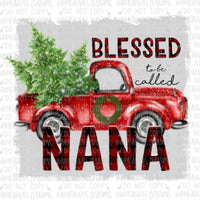 Blessed to be called Nana Digital Design