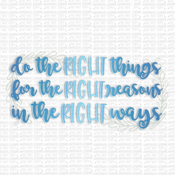 Right Things Digital Design