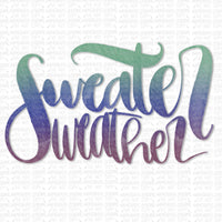 Sweater Weather Digital Design