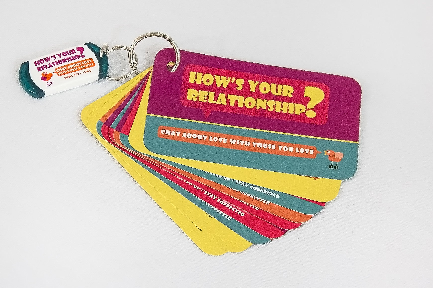 WSCADV - How's Your Relationship? Conversation Cards