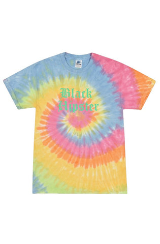 Black Hipster Eternity Tie Dye