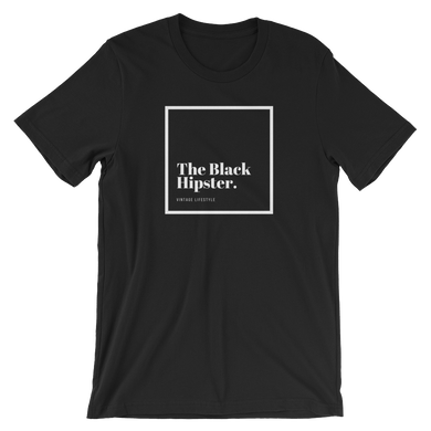 The Black Hipster. Original Tee- Inverted