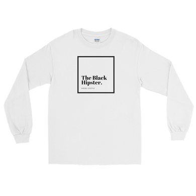 The Black Hipster. Original Tee- Long Sleeve
