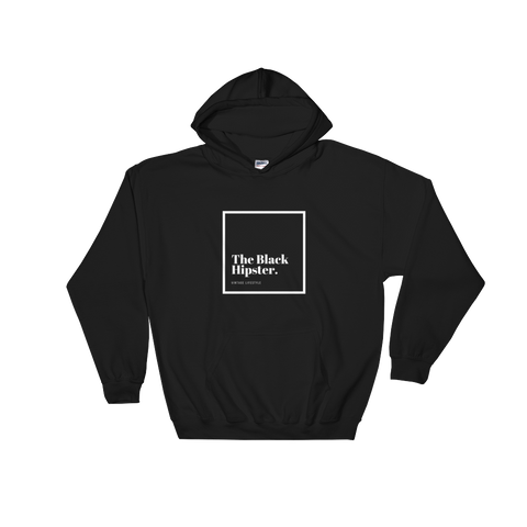The Black Hipster Original Hoodie-Inverted