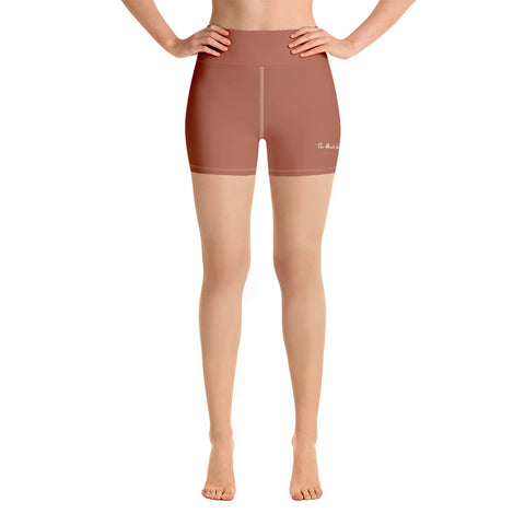 Burnt Peach Cycling Shorts