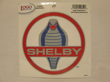 Shelby Cobra Medallion Decal