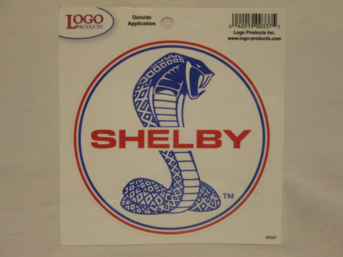 Shelby Tiffany Cobra Decal