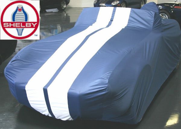 Shelby Cobra Car Cover with Stripes