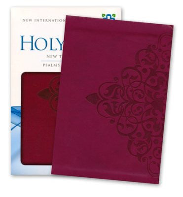 New Testament with Psalms and Proverbs-NIV pocket size