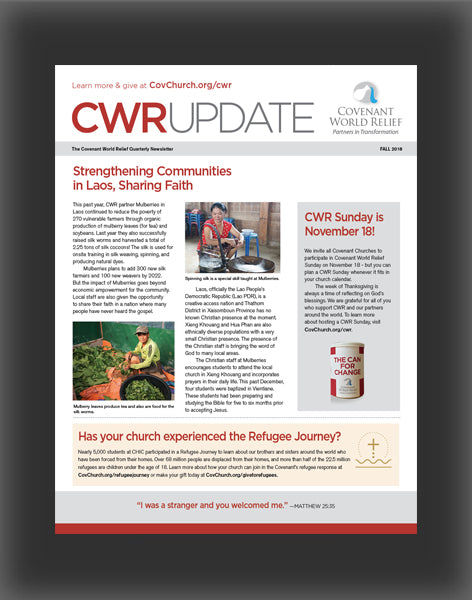 Covenant World Relief Ministry Update (Fall 2018)