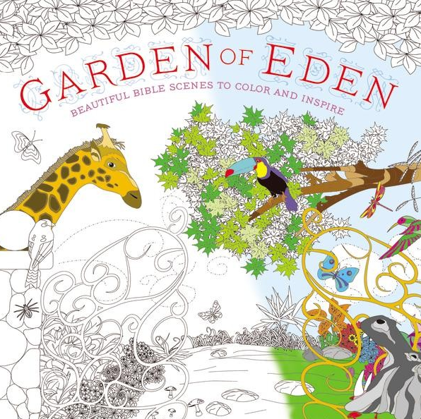 Garden of Eden Coloring Book: Beautiful Bible Scenes to Color and Inspire