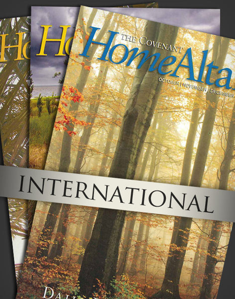 Home Altar: One-Year Subscription (for shipping internationally)