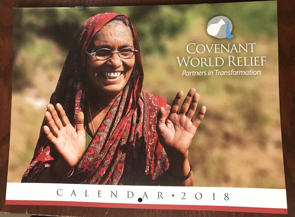 Covenant World Relief Calendar (2018)