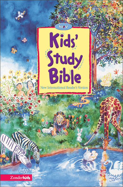 NIrV Kids' Study Bible (Softcover)