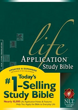 NLT Life Application Study Bible (Hardcover)