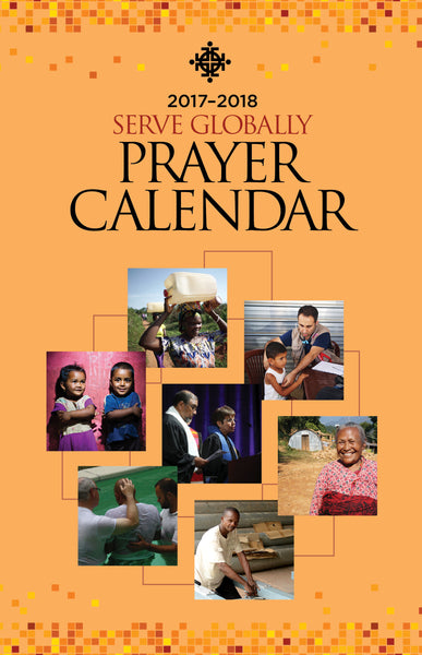 Covenant Missionary Prayer Calendar (2017-2018)