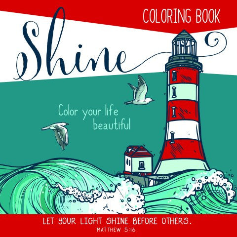 Shine: Adult Coloring Book
