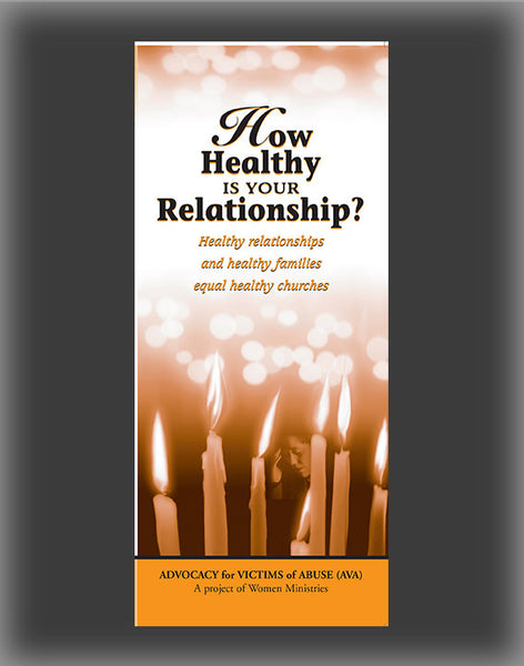 How Healthy Is Your Relationship Brochure