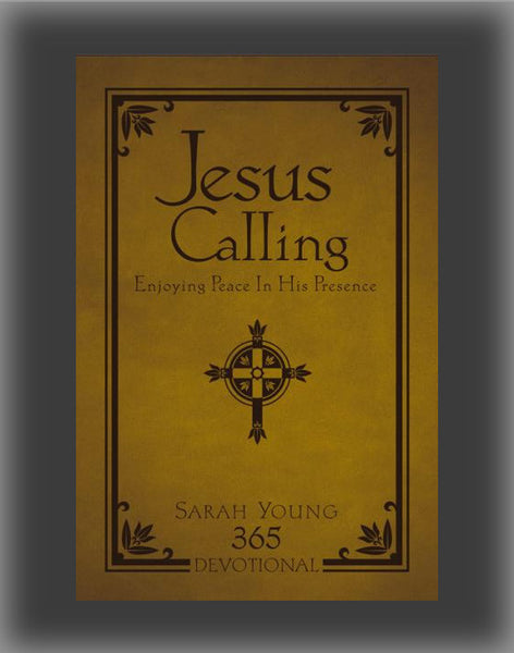 Jesus Calling: Enjoying Peace in His Presence (leatherbound)