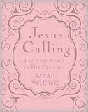 Jesus Calling pink leather edition