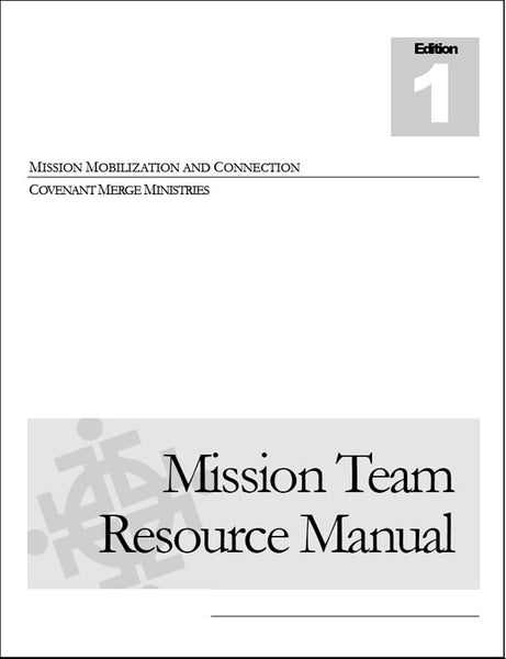 Mission Team Resource Manual