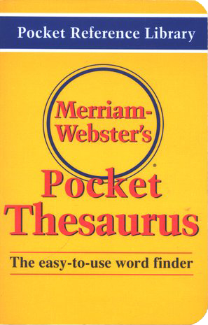 Merriam-Webster Pocket Thesaurus