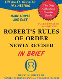 Robert's Rules of Order in Brief