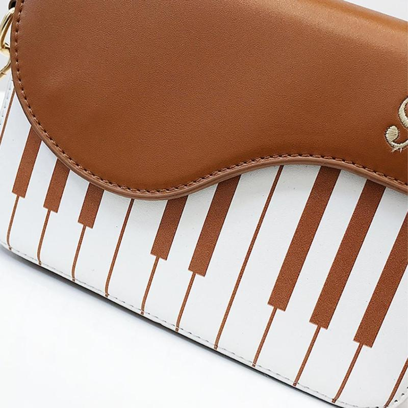 Piano Leather Handbag (LIMITED EDITION) - HopeShope18