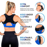 Adjustable Upper Back Posture Corrector for Men and Women - HopeShope18