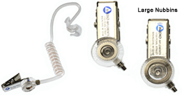 110/120 OCCSO-L Audioclarifier with Custom Ear Mold for LEFT EAR - Oversize