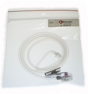 168-OSS-R On-Camera Universal Audioclarifier for RIGHT EAR, Straight Tube - No Ear Tips