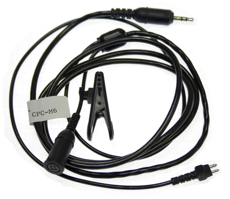 355 CPC-M6 Cell Phone Plug with Microphone
