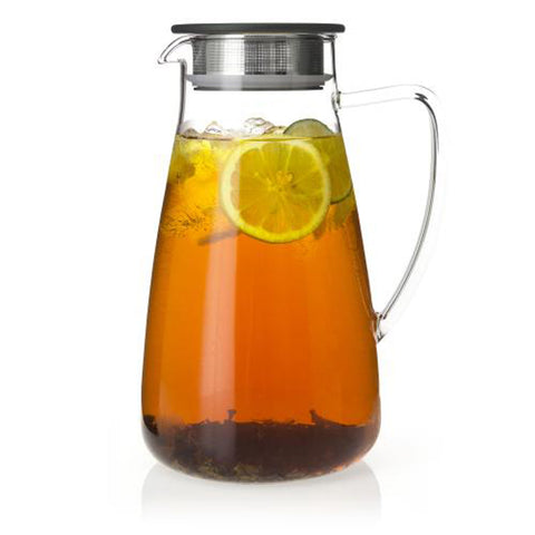 ForLife Flask 64 oz. Glass Iced Tea Jug
