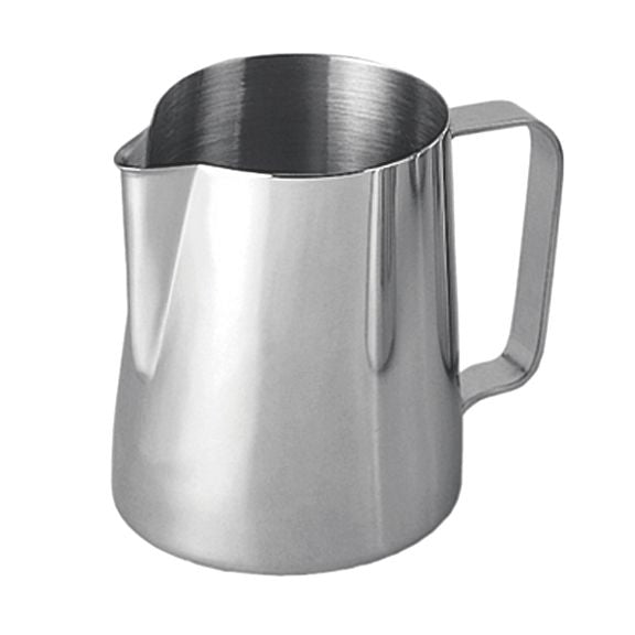 Stainless Steel Milk Frothing Pitcher - 12 oz